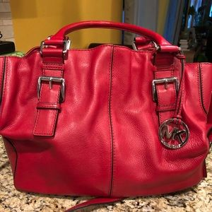 Michael Kors Red tote/purse
